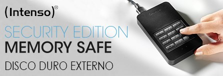 Memory safe Intenso disco duro externo