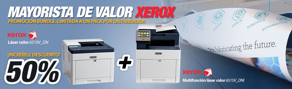 Xerox en Hispamicro