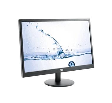 "AOC Value M2470SWH - monitor LED - 23.6"" - MVA - 1920 x 1080 - 250 cd/m2 - 1000:1 - 1 ms - 2 x HDMI - VGA - altavoces - negro"