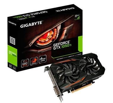 Gigabyte GV-N105TOC-4GD GeForce GTX 1050 Ti OC - 4 GB GDDR5 - DP - DVI-D - HDMI