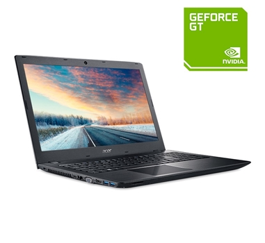 "Portátil Acer TravelMate P259-MG-549Q - 15.6"" - Core i5 6200U - 8 GB RAM - 500 GB HDD - Español - GF 940MX 2GB - Wifi - negro - Windows 10 64Bits"
