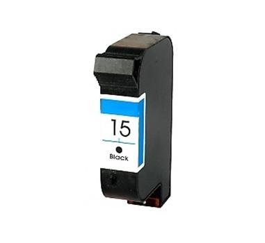 COMP. HP CARTUCHO NEGRO Nº15 25ML 603 PAG. DIGITAL COPIER/310 DESKJET/825/825C/840/843/920/924/3816/3820 SERIE PSC/500/700/750/760/950 OFFICEJET V/40/1150C/1170C/1175C/5110/6110 SERIE/5100