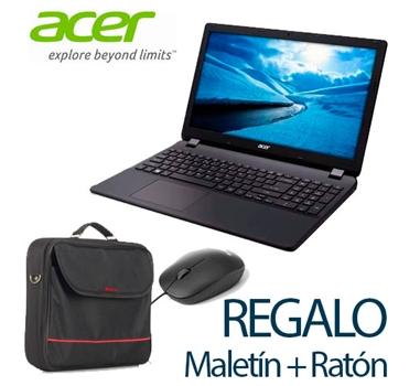 Promoción Portátil Acer Extensa EX2540 (i3/4GB/500GB/RW/W10) - Precio especial + Regalo maletín y ratón