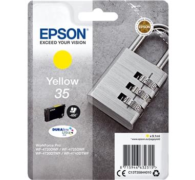 EPSON CARTUCHO AMARILLO 35 Pag. 650 Aprox