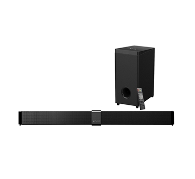 Talius - Barra de sonido Prysma + Subwoofer 70W - RCA + Jack 3.5 + USB - Mando a distancia