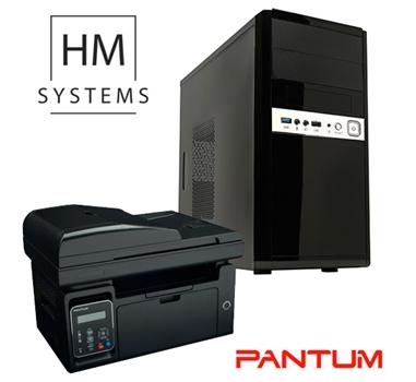 Promoción Ordenador HM System Siroco MT - G4400 - 4GB - 1TB - RW con Impresora Multifunción Pantum M6550NW