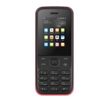 "Teléfono Libre Qubo Hera - Pantalla 1.77"" - Cámara - Linterna - FM - BT - Bat 800mAh Li-ion - Amp. microSD 64 GB - Dual SIM - Botón SOS"