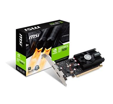 MSI GT 1030 LP OC - 2 GB GDDR5 - 1 x HDMI - 1 x DP - Incluye bracket Low Profile