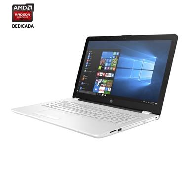"Portátil HP 15-BS036NS - Intel i5 7200 - 8 GB - 1TB - Radeon 520 2 GB - 15,6"" - Windows 10 - Blanco nieve (marco interior negro)"