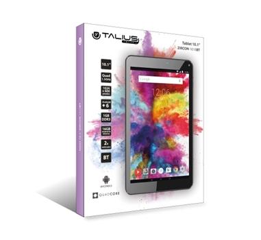 Talius - Bundle Tablet Talius Zircon 1010BT + Talius Ant iLoss GDT 6001 Blanco