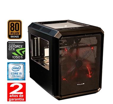 HM Gaming i550 - Cubo MT - Intel Core i5 7400 - 8GB DDR4 - 1TB - 500W 80+ Bronze - GTX 1050 ti 4GB GDDR5 - USB 3.0 - 2 años - 30 días DOA