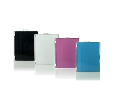 """3go Smart iPad - Funda tablet 9.7"""" - Blanca - Aluminio imantado especial para iPad"""