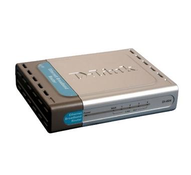 D-Link Express EtherNetwork DI-604 - Encaminador - conmutador de 4 puertos - sobremesa