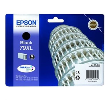 EPSON CARTUCHO NEGRO 79XL CAPACIDAD 2.600 PÁGINAS WF 46XX/51XX/56XX