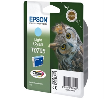 EPSON CARTUCHO CIAN CLARO STYLUS PHOTO/1400/800FW PX/700W