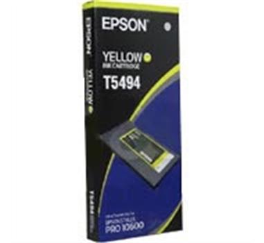 EPSON CARTUCHO AMARILLO 500ML STYLUS PRO/10600