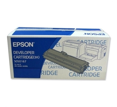 EPSON TONER NEGRO 3.000 PAG. EPL/6200/6200L