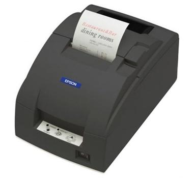 EPSON TM-U220D LPT Impresora de agujas 76mm - Paralelo ESC/POS - Color Negro