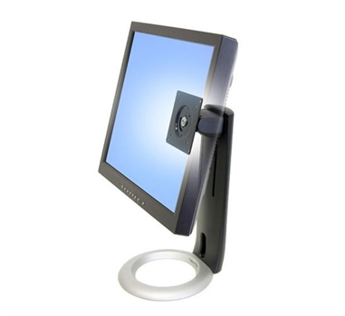 Ergotron Neo-Flex LCD Stand - Base para panel plano - negro - interfaz de montaje: 100 x 100 mm, 75 x 75 mm