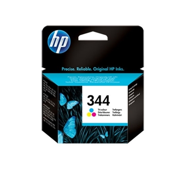 HP CARTUCHO TRICOLOR Nº344 14ML DESKJET/6540/6620/5740/5745/5940/6840/6540D/9800/6980/D4160/SERIE 460 PHOTOSMART/470/2575/325/370/375/2710/8050/8051/8450/3851/475/2610/2570/B8350/D5145/D5155/D5160