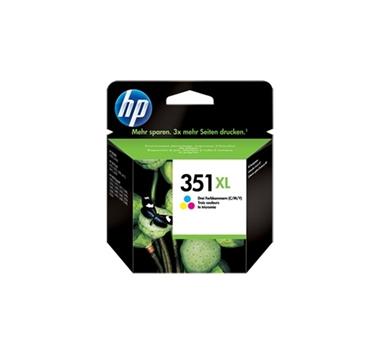 HP CARTUCHO TRICOLOR Nº351XL DESKJET/4260 OFFICE JET/J5730/J5780/J5785 PHOTOSMART/C4200/C4400/C4480/D5360/C5200 SERIES 14ML