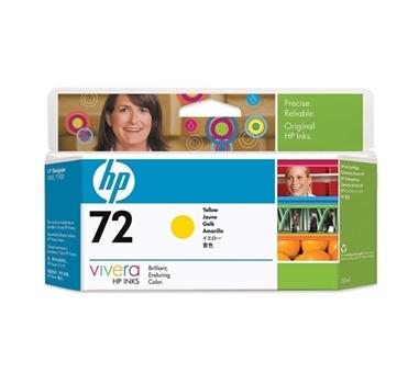 HP CARTUCHO GF AMARILLO Nº72 130ML DESIGNJET T/610/770/1100