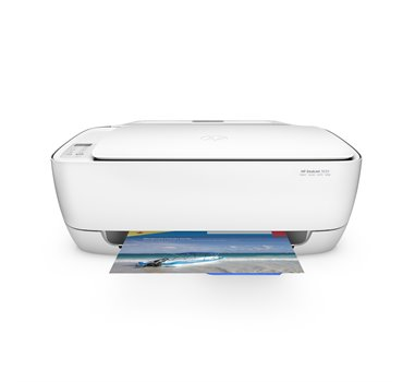 HP Deskjet 3630 All-in-One - Impresora multifunción - color - chorro de tinta - 216 x 297 mm (original) - A4/Legal (material) - hasta 5 ppm (copiando) - hasta 8.5 ppm (impresión) - USB 2.0, Wi-Fi(n)