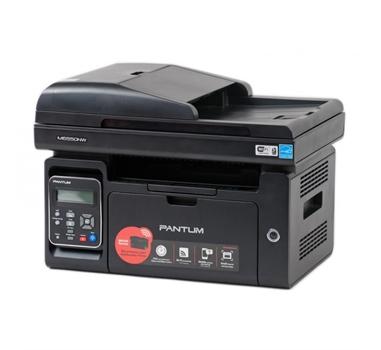 PANTUM M6550NW - Multifunción láser monocromo A4, Impresora, escaner y fotocopiadora, 22ppm,  1200x1200dpi, ADF, USB2.0, Ethernet 10/100, Wifi,  bandeja 150 páginas,  Negra