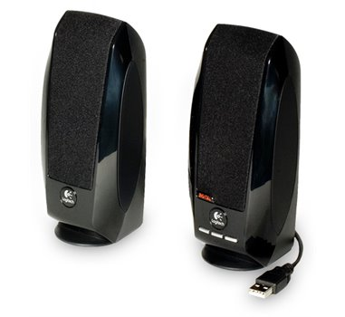 Logitech S150 Digital USB - Altavoces multimedios para PC - USB - 1.2 vatios (Total) - negro