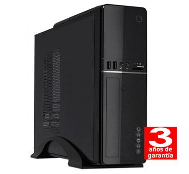 HM Siroco C1 - Sobremesa Slim SFF - Intel Dual Core - 4GB - 500GB - Grabadora - 3 años - 30 días DOA
