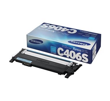 SAMSUNG TONER LASER CIAN CLP/360/365/365W CLX/3300/3305 CLT-C406S