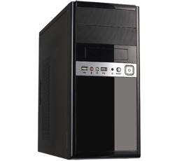 """Caja microATX Unykach UK-6011 Negra - FA 500w - USB 2.0, Audio y Microfono frontal - 395x170x365 mm - admite hd 2.5"""""""