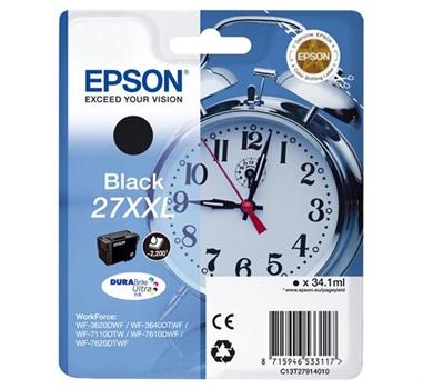 Epson WorkForce WF-3000 y WF-7000 Cartucho Negro de Alta Capacidad nº27XXL