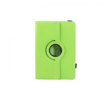 """3go Funda Tablet 10"""" - Verde - Simil Piel - Con soporte - Con cierre elástico"""