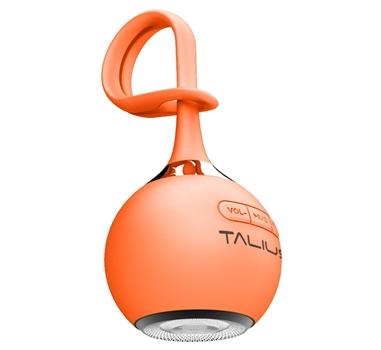 Talius - Altavoz portatil Drop - Bluetooth - 3W - MicroSD - Bateria 400mAh - 4h atonomía - Naranja