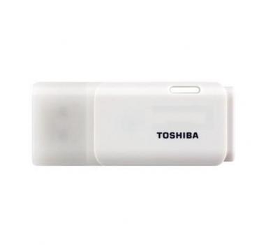 Toshiba - Pendrive 16 GB Hayabusa Color Blanco - USB 2.0