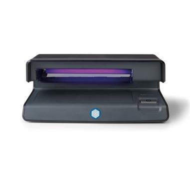 Safescan 50, Detector de billetes falsos UV, Comprueba tarjetas de crédito e Identificaciones, Negro
