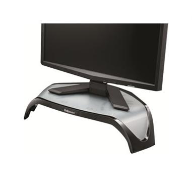 """Fellowes Smart Suites - Elevador de monitor - Hasta 53,3 cm (21"""") para pantalla plana - 18,14 kg Capacidad de carga - Negro"""