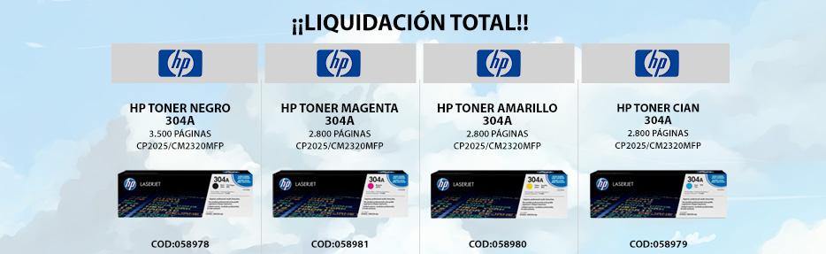 Promoción consumibles HP