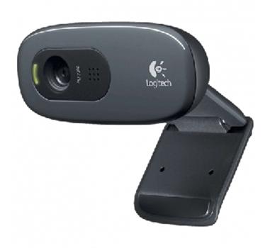 Logitech Webcam C270 - Cámara web - color - Grabación 1024x720 - Audio