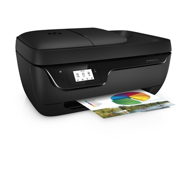 HP Officejet 3833 All-in-One - impresora multifunción (color) - chorro de tinta - A4 - 60 hojas - 33.6 Kbps - USB 2.0 - Wifi - consumible 302/XL