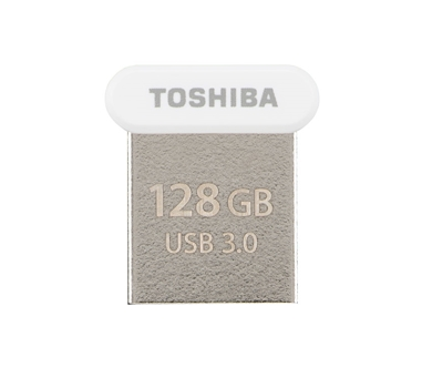 Toshiba - Pendrive USB 3.0 128Gb TOWANADO UltraFit Blanco