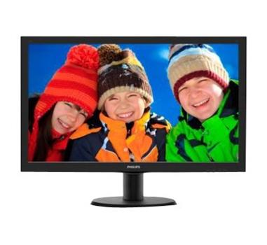 "Philips V-line 243V5LHSB - monitor LED - Full HD (1080p) - 23.6"" - 250 cd/m2 - 1000:1 - 5 ms - HDMI, DVI-D, VGA"