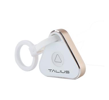 Talius - Sistema Anti Loss  GDT 6002 - Bluetooth - Compatible con iOS y Android - Hasta 20 metros - Funcion BT para movil - 6 meses de autonomía - Plata