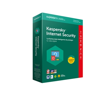 Kaspersky Internet Security MultiDevice 2018 - Paquete de suscripción ( 1 año ) - 3 PC - Win - Mac