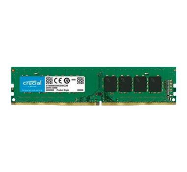 Crucial - DDR4 - 8 GB - DIMM de 288 espigas - 2400 Mhz - PC4-19200