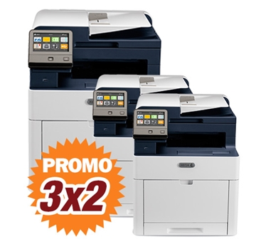 Kit Multifunción láser color Xerox WorkCentre 6515V_DN 3x2