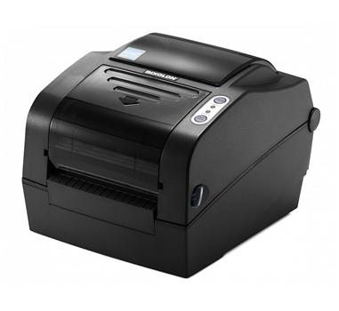 Impresora de etiquetas Bixolon SLP-TX420G - Térmica directa y transferencia térmica (Ribbon) - Serie+Paralelo+USB - Negro