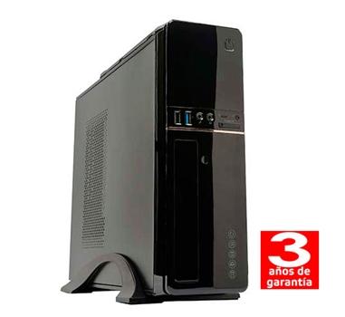 HM Siroco C2A - Sobremesa Slim SFF - Intel Dual Core G4400 - 4GB - 1TB - USB 3.0 - Grabadora - 3 años - 30 días DOA