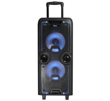 NGS - Altavoz Portatil Wild Rock - RMS 200W - Bateria 4500mAh - BT/FM/USB/AUX/2xMIC (no incluidos) - Pantalla LED